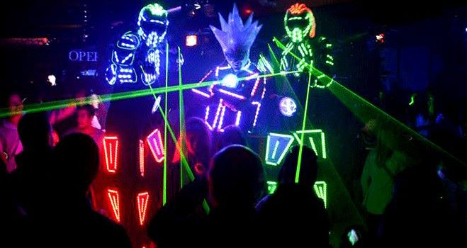 LED PERFORMERS SHOWS